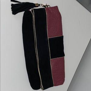 Vintage Tabitha fold over Clutch